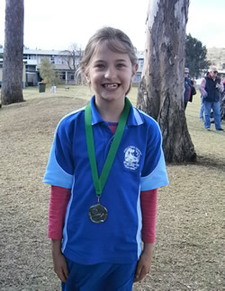 Isabella wins Silver medal!